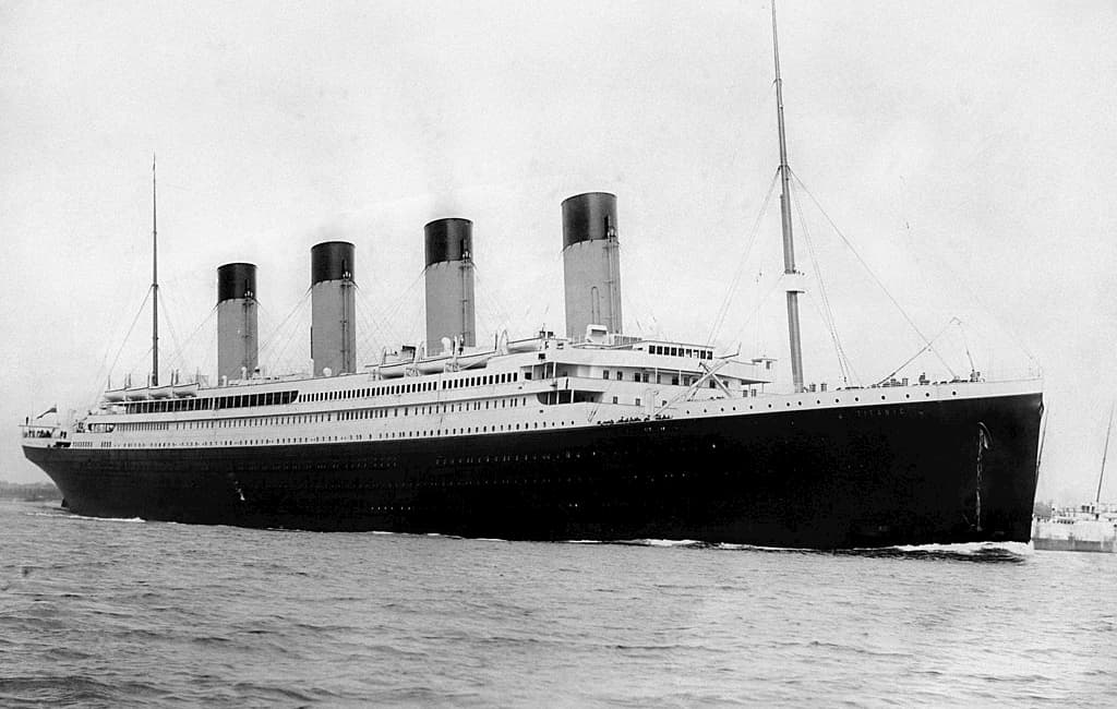 Hacer maqueta del titanic
